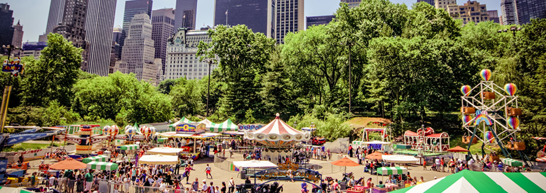 News 3 - Victorian Gardens at at Wollman Rink in Central Park