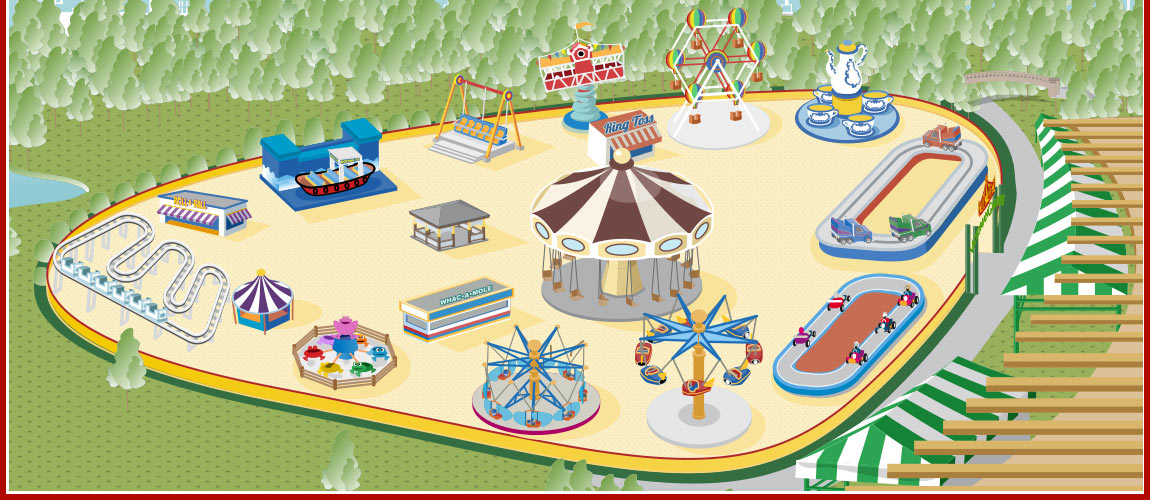 discover our amusement rides in central park nyc